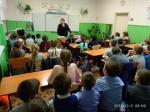Беседа майора полиции с детьми